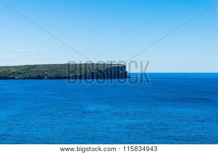 Australian seascape with lighthouse