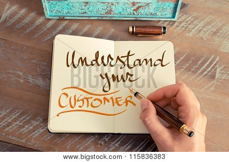 Handwritten Text Understand Your Customer