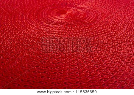 Woven Cloth Made Of Synthetic Fibers