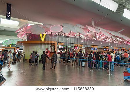 Unidentified People In Kuala Lumpur International Airport 2
