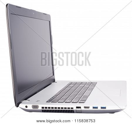 Laptop Isolated Isometric View