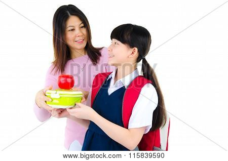 Healthy Eating Concept For School Child