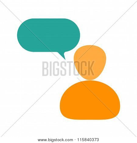 Person Speaking