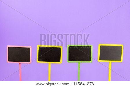 Signage Wood Board