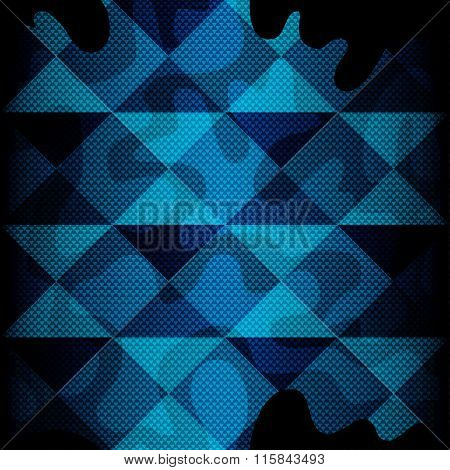 Color Beautiful Abstract Geometric Seamless Background