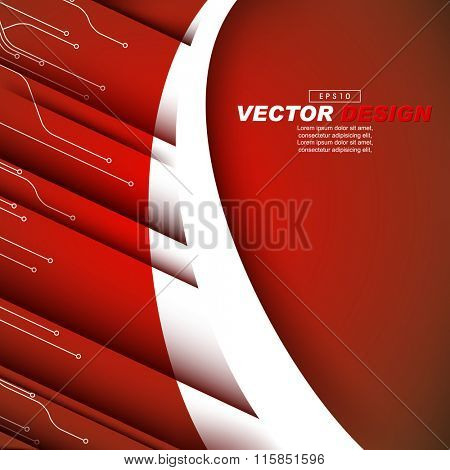 diagonal lines, circuit board concept corporate business background