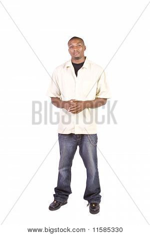Casual Black Man