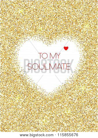 To My Soulmate Greeting Card