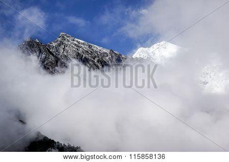 Glacier, Snow Mountain Gongga