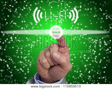 Hand Connect To Lifi