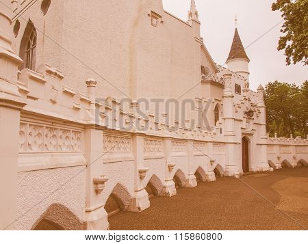 Strawberry Hill House Vintage