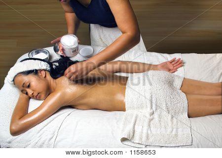 Sea Salt  Scrub Massage
