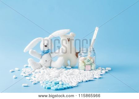 Rabbittoy With Medical Equipment