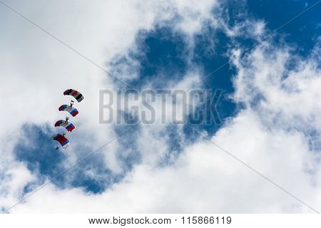 Paratroopers In The Sky.