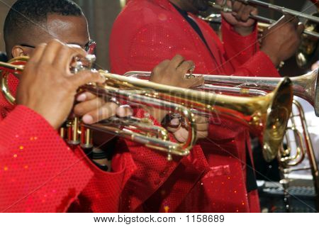 Perfroming Trumpets