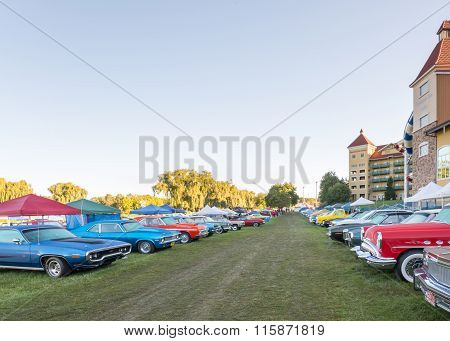 Classic Cars at the 2015 Frankenmuth Auto Fest