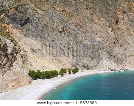 Beach Under The Cliff