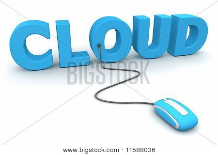 Browse The Cloud - Blue Mouse