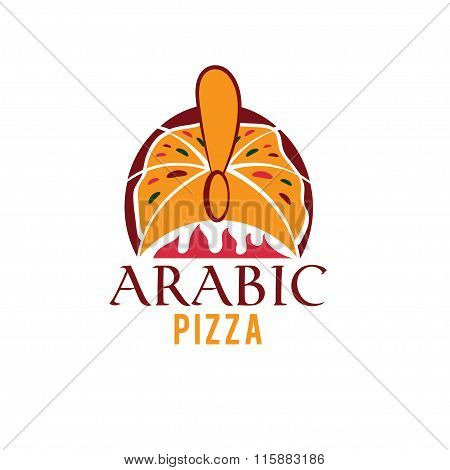 Arabic Pizza Vector Design Template