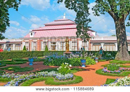 Peterhof. Russia. Monplaisir Garden