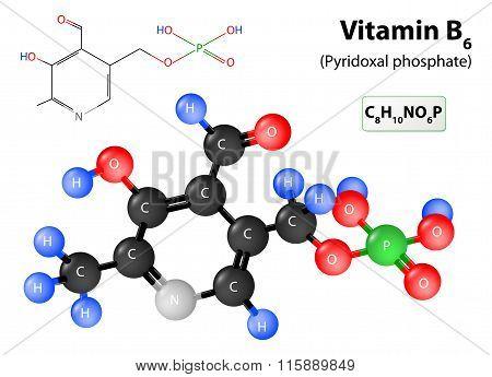 Molecule Vitamin B6
