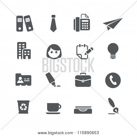 Office and Business Icons // Utility Series