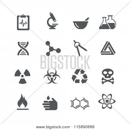 Science Signs and Symbols // Utility Series