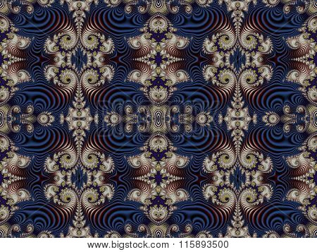 Fabulous Background With Spiral Pattern. You Can Use It For Invitations, Notebook Covers