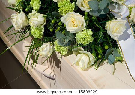 Coffin In Morque
