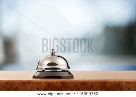 Hotel bell.