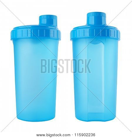 Shaker isolated on white background
