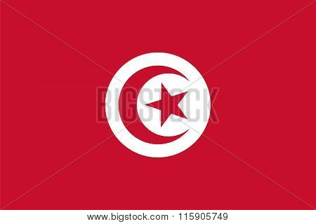 Standard Proportions For Tunisia Flag