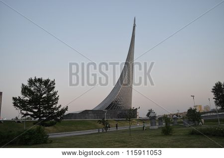 Moscow, the Monument to the Conquerors of space