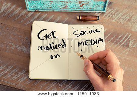 Handwritten Text Get Noticed On Social Media