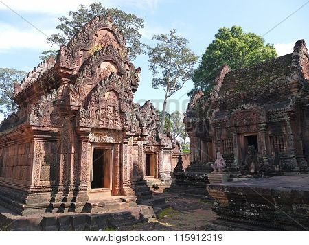 Temple of women Banteay Srei, Cambodia