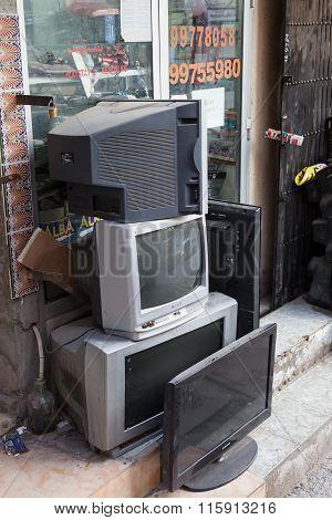 Tv Shop In Nizwa, Oman