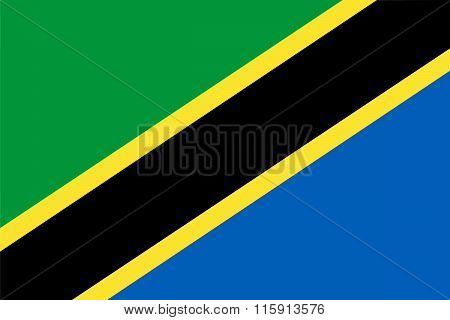 Standard Proportions For Tanzania Flag
