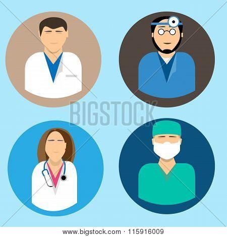 Medical avatars set