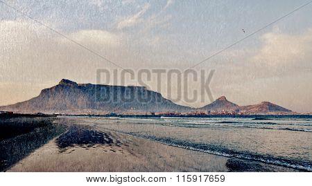 Beach With Table Mountain
