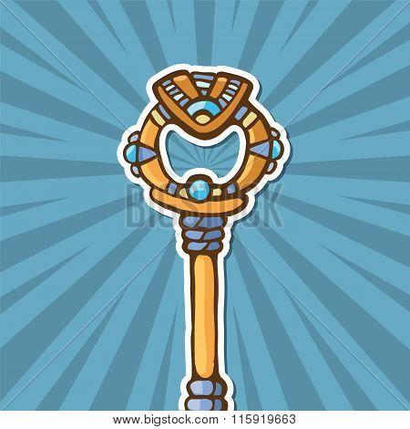 Ancient Gold Key