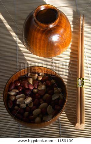 Bamboo Pannikin With Peanuts
