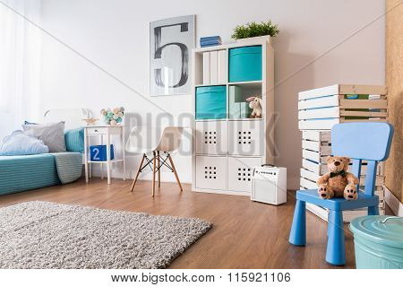 A Lot Of Space For Sleep And Play