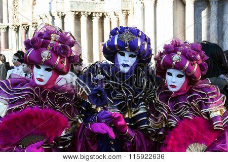 Venetian Masks, Venice, Italy