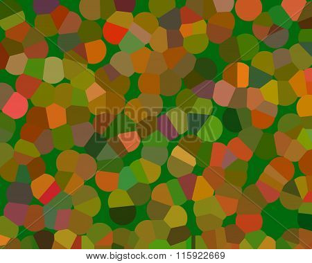 Mosaic Background (large Spot Pattern)