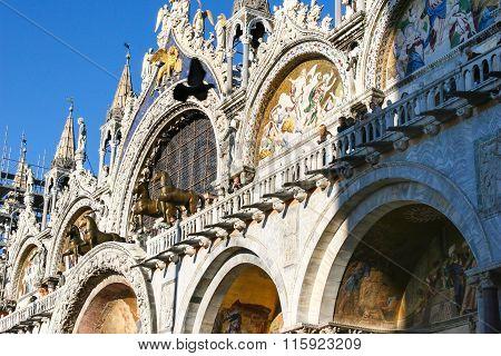 Saint Mark Basilica,Venice, Italy