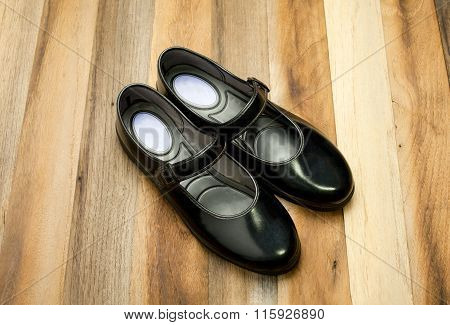Thai girl Student shoes