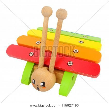 Wooden Toy Xylophone