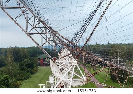 Russian antenna radio telescope to study pulsars