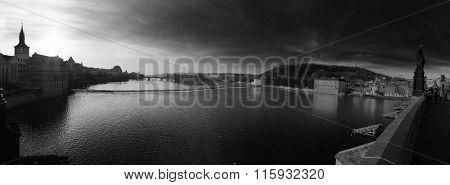 River Vlatva Prague