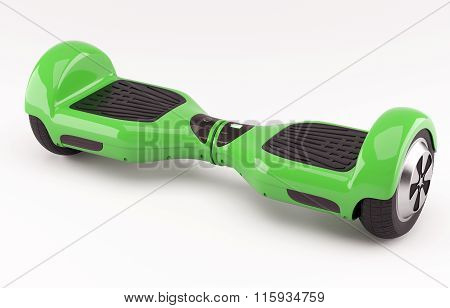 Hoverboard green